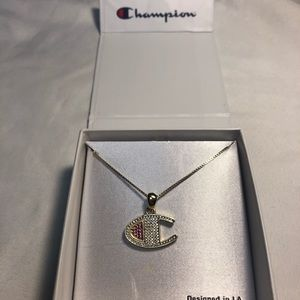 c0ab9f6bde47a King Ice Champion Jewelry - Champion Heritage C gold pendant necklace 🥊